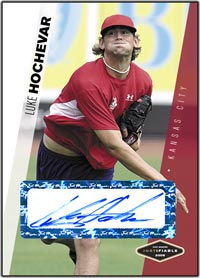 JFP06 White Auto (#'d to 200) Luke Hochevar