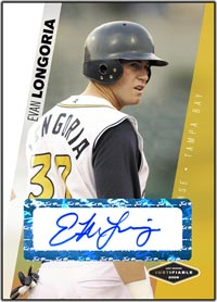 JFP06 White Auto (#'d to 100) Evan Longoria