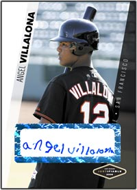 JFP06 White Auto (#'d to 200) Angel Villalona