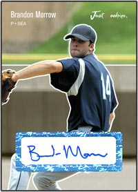 JRP06 Black Auto (#d to25) Brandon Morrow
