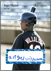 JRP06 Black Auto (#d to25) Angel Villalona