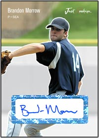 JRP06 White Auto (#'d to 200) Brandon Morrow