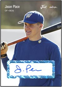 JRP06 White Auto (#'d to 200) Jason Place