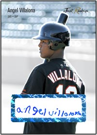 JRP06 White Auto (#'d to 200) Angel Villalona